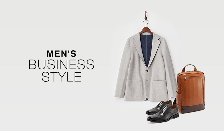 MEN'S  BUSINESS STYLE