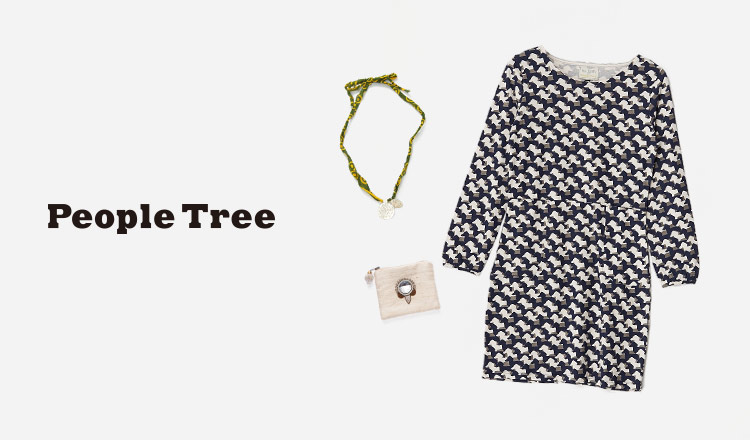 PEOPLE TREE-APPAREL& ACCESSORY-