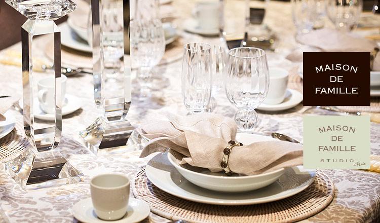MAISON DE FAMILLE-TABLE WEAR-